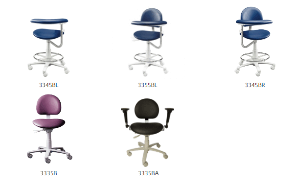 Brewer 3300 chairs