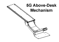 5G Above Desk Mechanism