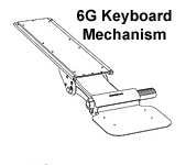 6G Keyboard Mechanism
