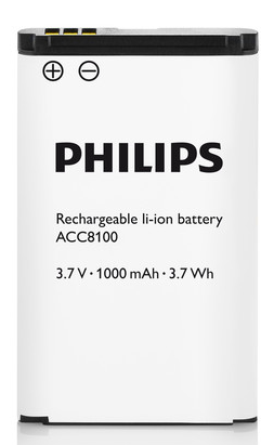Philips Rechargeable li-ion battery