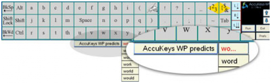 AccuKeys_word_predict_Software