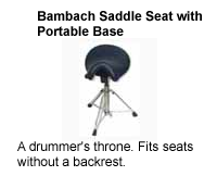 Bambach Saddle Seat with Portable Base