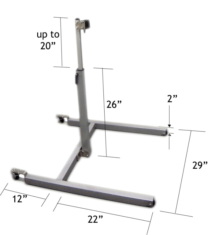 Basic Floor Stand measurements