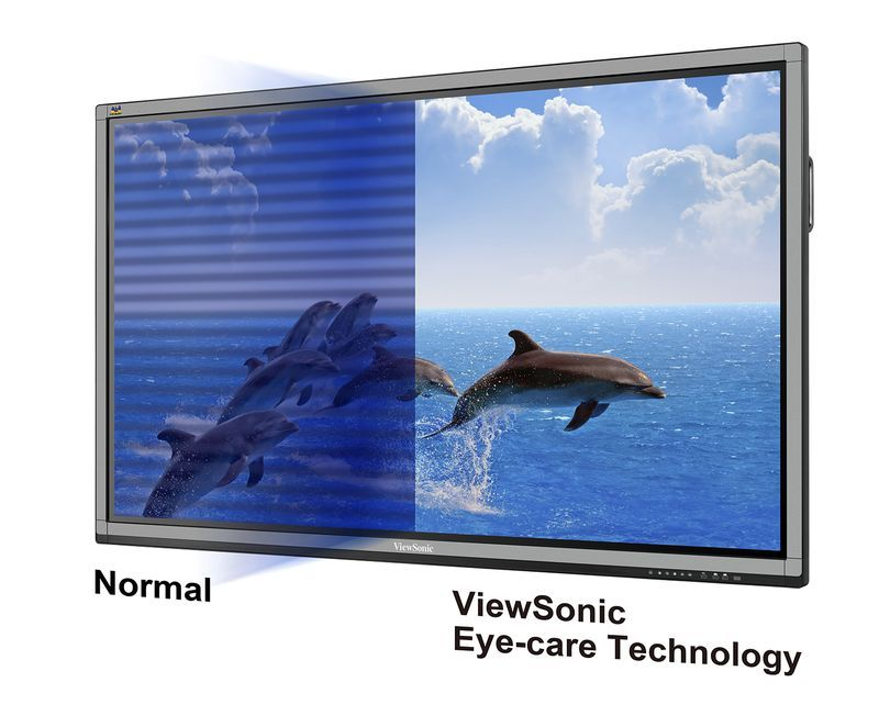 Eye-Care tecchnologies create comfort viewing environment