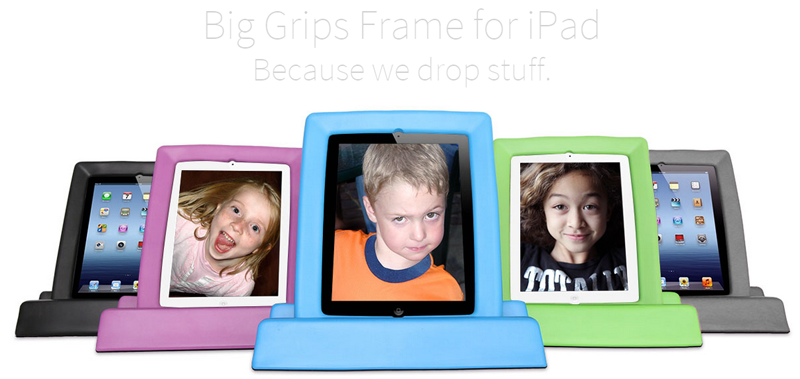 Big Grips Frame - iPad 2/3/4