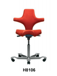 Saddle Seat with Back - H8106