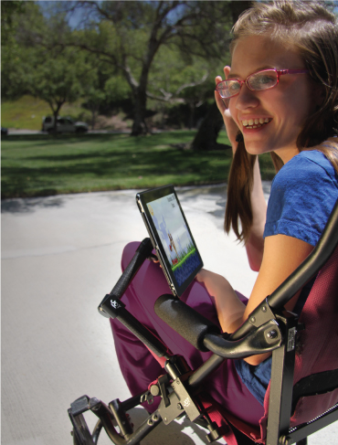 MagConnect™ Wheelchair Mount for iPad and iPad mini