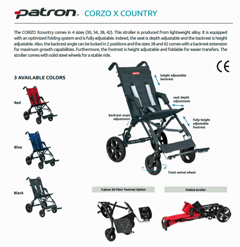 Corzo Xcountry Stroller Models #1