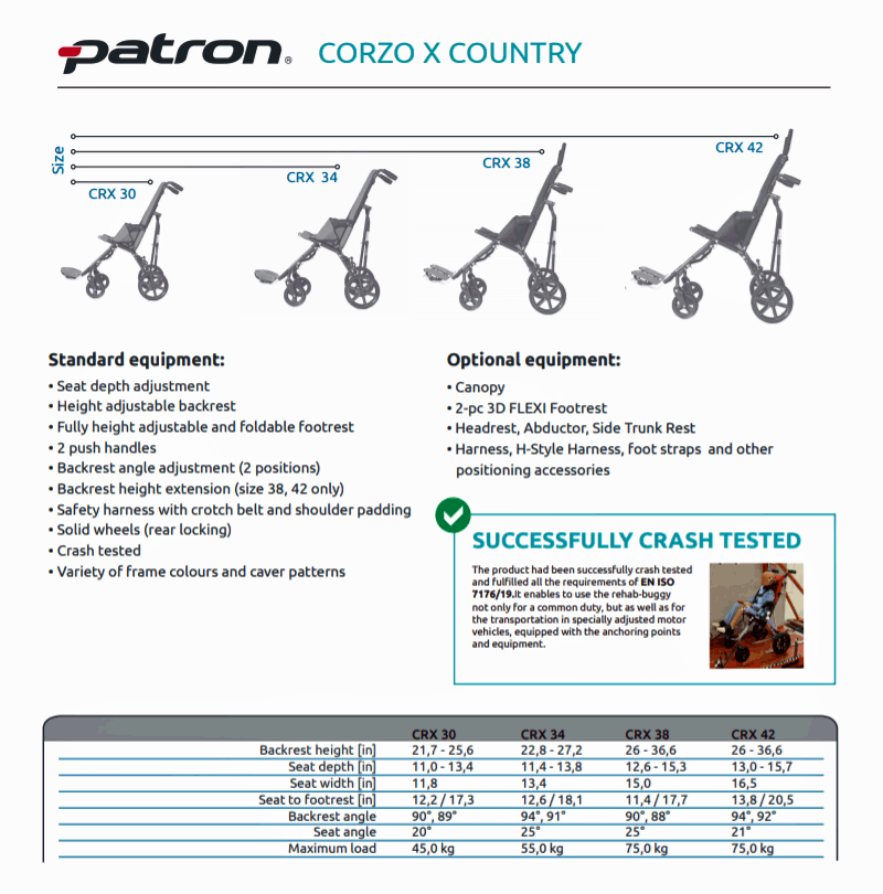 Corzo Xcountry Stroller Models #2