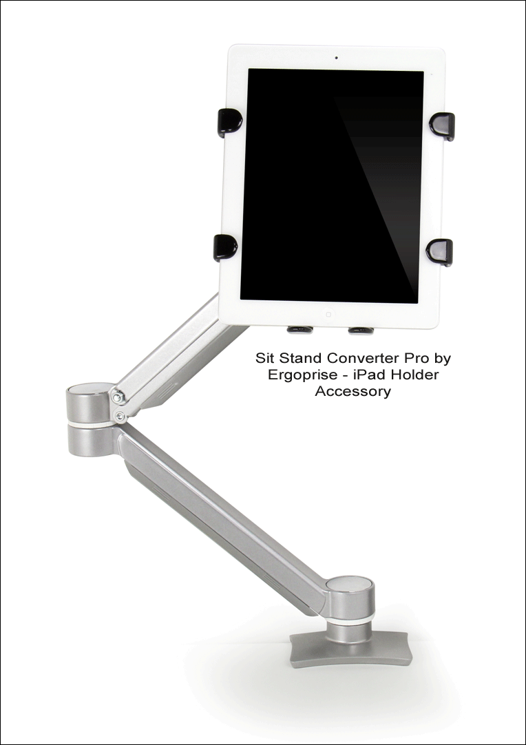 iPad Holder for Dual Arm