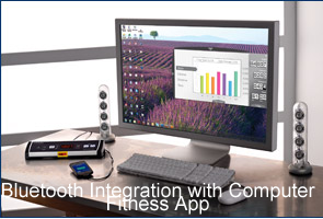 Bluetooth Integration with Computer Fitness App