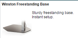 Winston Freestanding Base