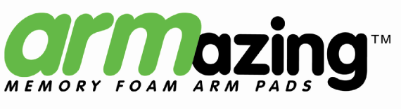 ARMazing Memory Foam Arm Pads