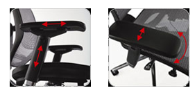Concept2.0 Adjustable Armrests