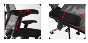 Adjustable Lumbar Support Ensures