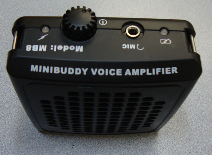 MiniBuddy voice amplification