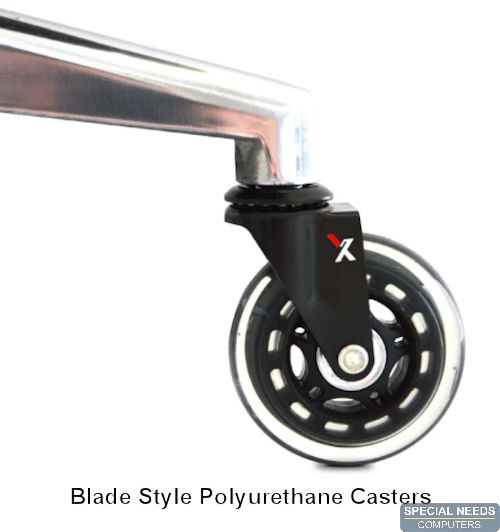 Blade Style Polyurethane Casters