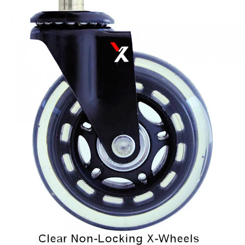 X-Wheel Casters (Clear)