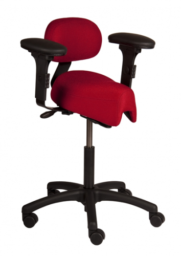 saddle chairs zoom - Saddle Chair