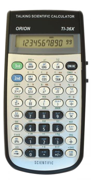 Orion Ti 36x Talking Scientific Calculator