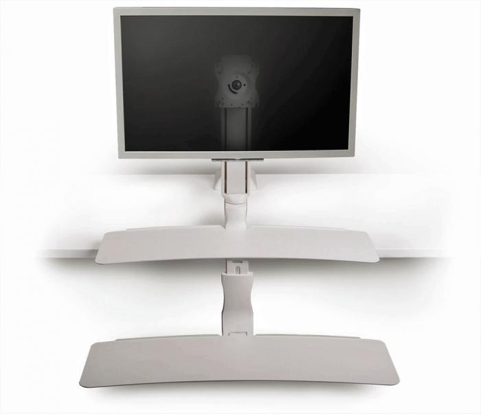 S2s Sit Stand Riser Workstation