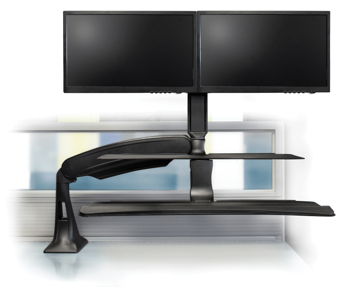 S2s Dual Sit Stand Workstation