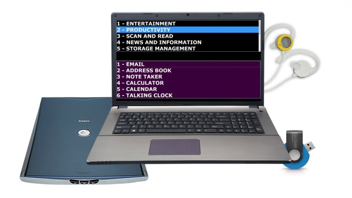 Laptalk Laptop Seniors Computer Access
