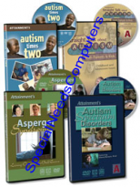 All About Autism DVDs - Four popular Autism videos on DVD