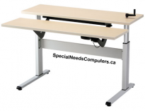 Equity Adjustable Workstation with Keyboard Lift