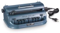 Electric Blue Perkins Brailler