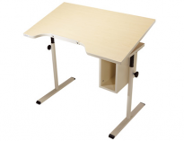 "Adjustable Tilt Student Desk with Storage - 42"" x 24"""