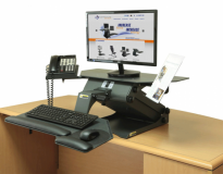 TaskMate Executive Standing Desk - 6100