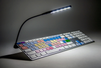 LogicLight v2 Bundle - Black LED USB Keyboard Lamp
