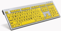 Large Print Slim Line PC Keyboard