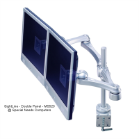 SightLine - Dual Panel Monitor Arm