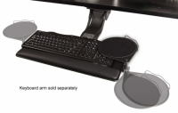 "Merlin - 20"" Keyboard Platform - Keyboard Arm & Tray"