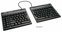Kinesis Freestyle2 Keyboard for PC - KB800PB-US