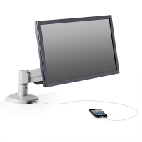 Monitor Arm with Integrated USB Hub - 7000-Busby