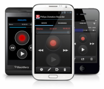 SpeechExec dictation recorder for Smartphones
