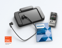 Philips Pocket Memo dictation and transcription set