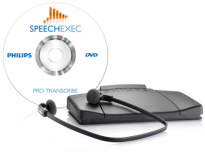 Philips professional transcription set