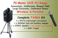 OKAYO 96 channel Portable PA System - TA40A
