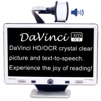 DaVinci Pro HD/OCR - Full Page Text-to-Speech