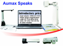 Aumex Speaks - Portable Desktop, Distance, and Voice CCTV