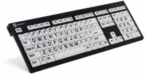 LARGEPRINT - PC Nero Keyboard