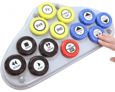 Jumbo universal remote control - Switch enabled
