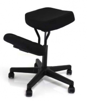 BetterPosture Solace Kneeling Chair – Black - BP1442BK