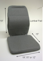 Sacro-Ease Deluxe Seat Support - SACRO-DX