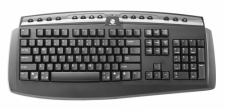 Gyration Classic Full-size Wireless Keyboard