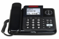E814 Amplified Corded Phone with Answering Machine